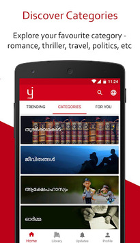 Free Books, eBooks, Novels, Stories - Pratilipi 📖 APK screenshot 1