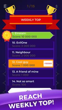 Millionaire 2019 - General Knowledge Quiz Online APK screenshot 1