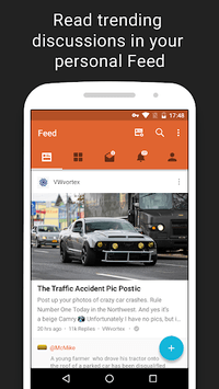 Tapatalk - 200,000+ Forums APK screenshot 1