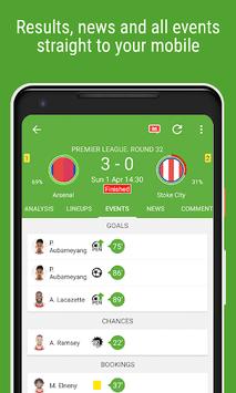 BeSoccer - Soccer Live Score APK screenshot 1