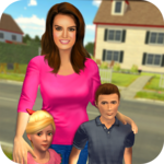 Virtual Mom Babysitter: Happy Family Fun Time FOR PC