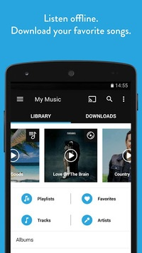 Napster Music APK screenshot 1