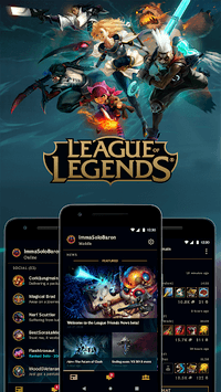 League Friends APK screenshot 1