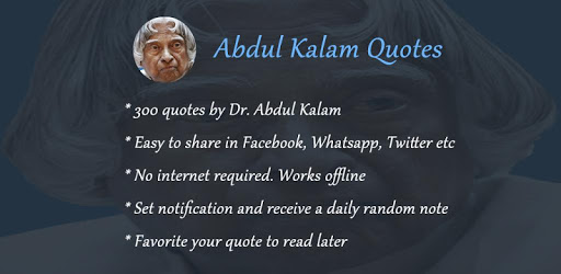 Abdul Kalam Quotes in English pc screenshot
