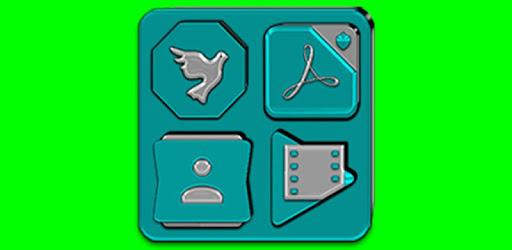 Cyan Icon Pack v6.2 👻Free👻 pc screenshot