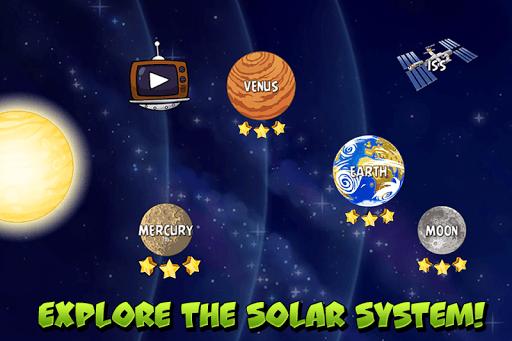 Angry Birds Space APK screenshot 1