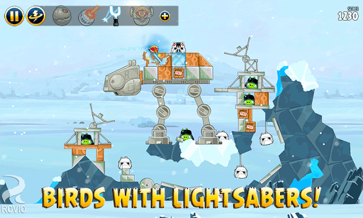 Angry Birds Star Wars APK screenshot 1