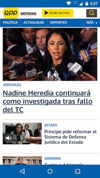 RPP Noticias APK screenshot 1