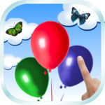 Balloon Butterfly Popping for pc icon