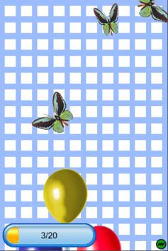 Balloon Butterfly Popping APK screenshot 1
