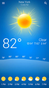 Weather pc screenshot 1