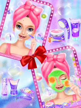 Pink Princess Makeover Spa Salon APK screenshot 1