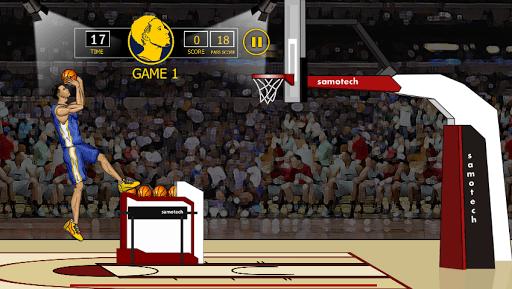 Steph Curry Basket Shots APK screenshot 1