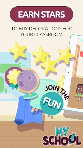 MySchool - Be the Teacher! Learning Games for Kids APK screenshot 1