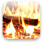 Natural Fireplace: Ambient Fire Sounds icon