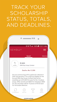 Scholly apk screenshot