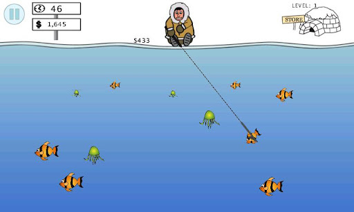 Ice Water Fishing APK screenshot 1