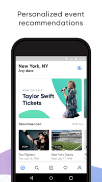SeatGeek – Tickets to Sports, Concerts, Broadway APK screenshot 1