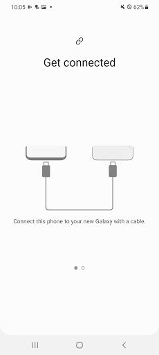 Samsung Smart Switch Mobile APK screenshot 1