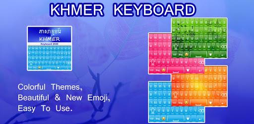 Khmer Language Keyboard : Khmer Keyboard pc screenshot