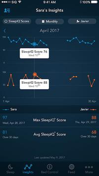 SleepIQ APK screenshot 1