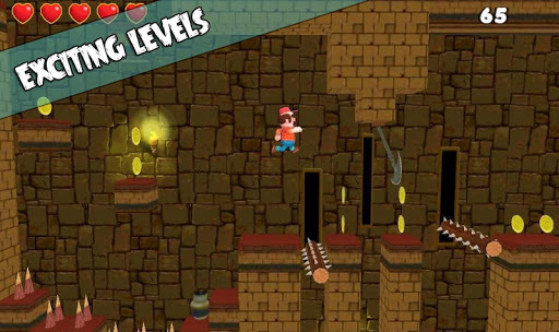 Super Barzo adventure platformer 3d APK screenshot 1