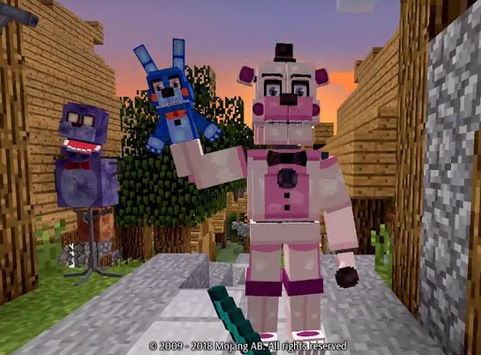 FNAF Addons for MCPE APK screenshot 1