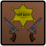 Shooting Sheriff's Gun apk icon