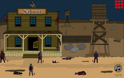 Shooting Sheriff's Gun apk screenshot 1