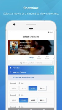 SF Cinema APK screenshot 1