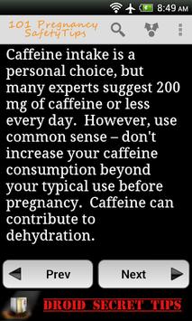 101 Pregnancy Safety Tips Free APK screenshot 1