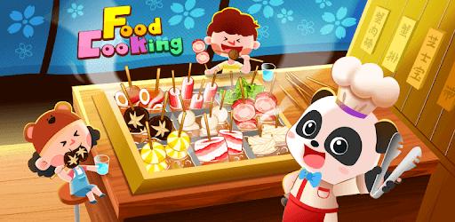 Little Panda's Food Cooking pc screenshot