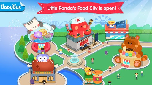 Little Panda's Food Cooking APK screenshot 1
