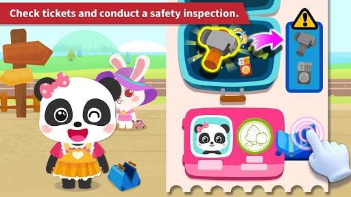 Baby Panda's Train APK screenshot 1