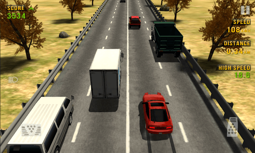 Traffic Racer APK screenshot 1