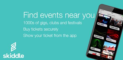 Skiddle: Gigs Clubs Festivals pc screenshot