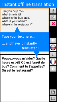 Offline Translator: French-English Free Translate APK screenshot 1