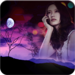 Moon Photo Frame for pc icon