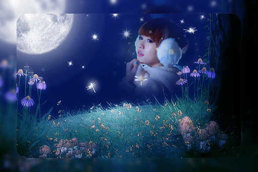 Moon Photo Frame APK screenshot 1