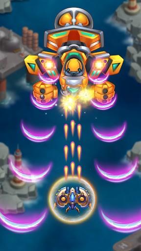 Sky Raptor: Space Shooter - Alien Galaxy Attack APK screenshot 1