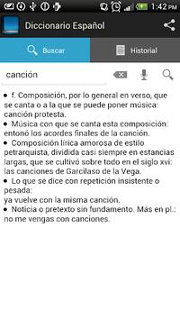 Spanish dictionary APK screenshot 1