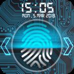 Fingerprint lock screen APK icon
