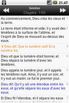 La Sainte Bible, Louis Segond APK screenshot 1