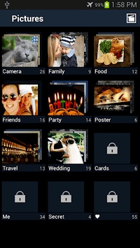 Secure Gallery(Pic/Video Lock) APK screenshot 1