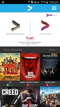 SPI Cinemas Movie Tickets APK screenshot 1