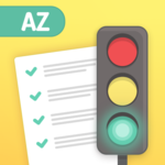 Permit Test AZ Arizona MVD DOT Driver's License Ed icon