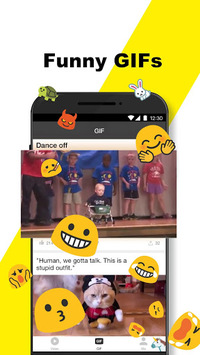 BuzzVideo - Funny Comment Community APK screenshot 1