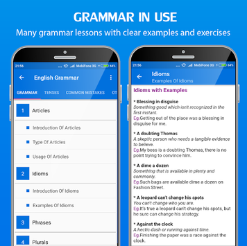 English Grammar Handbook APK screenshot 1