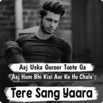 Tere Sang Yaara | Love & Sad Hindi Status, Shayari icon