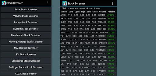 Stock Screener pc screenshot